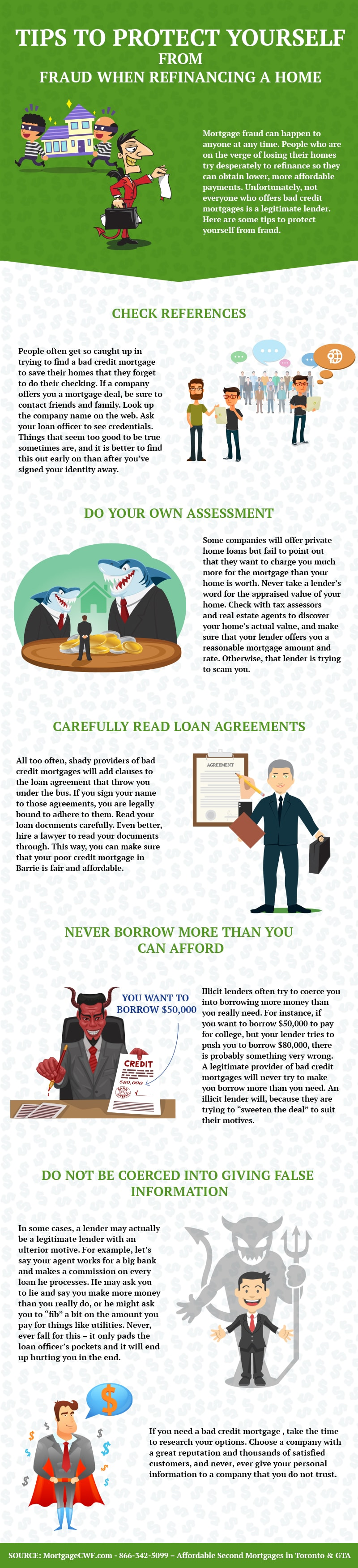 Tips to Protect Yourself from Fraud when Refinancing a Home